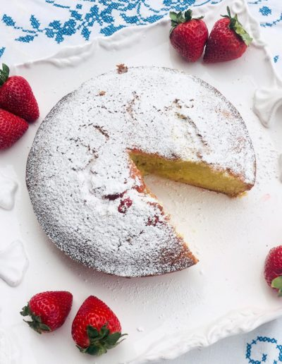 A mouthwatering Italian Olive Cake