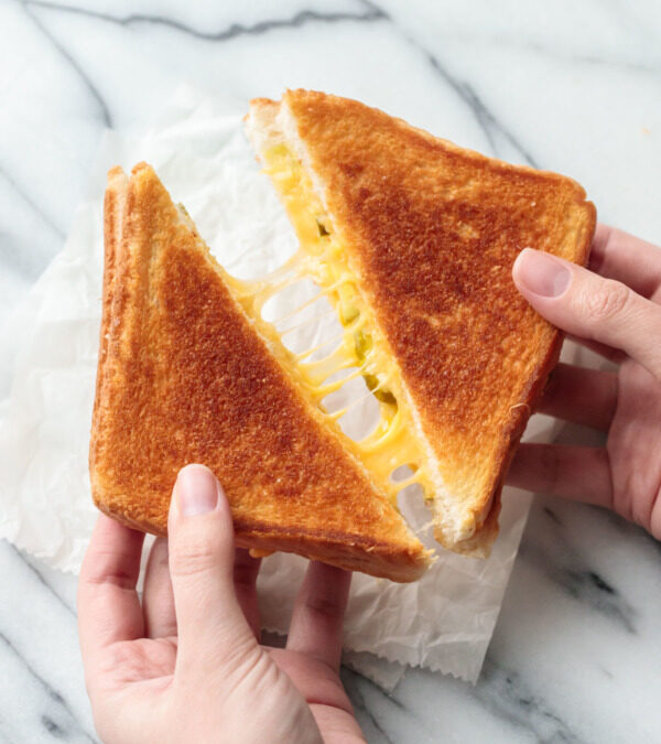 The BEST grilled cheese sandwich ever!!!!